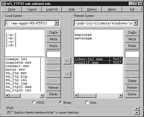 Ch 17 -- Getting Files with FTP